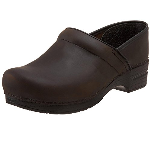 Dansko Wide Pro Men Mules & Clogs Shoes, Antique Brown Oiled, Size - 45