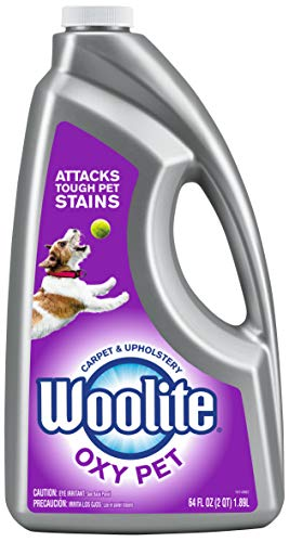 Bissell 1255 Woolite 2X Pet and Oxy Carpet Cleaner, 64-Ounce