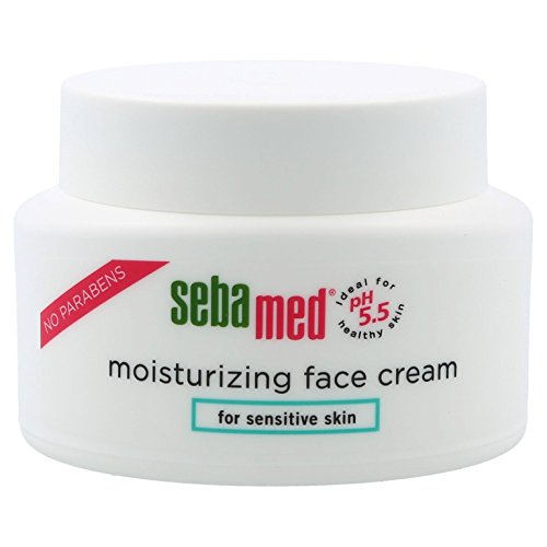 Sebamed Moisturizing Face Cream for Sensitive Skin Antioxidant pH 5.5 Vitamin E Hypoallergenic 2.6 oz (75g) Ultra Hydrating Dermatologist Recommended