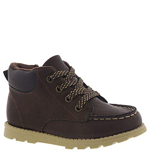 carter's Boys' Brand Fashion Boot, Brown, 12 M US Little Kid by Carter's