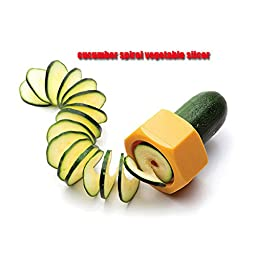 Multifunction Vegetable Slicer Cucumber Spiral Vegetable Fruit Cutter Kitchen Accessories Cooking Tools-Color Random