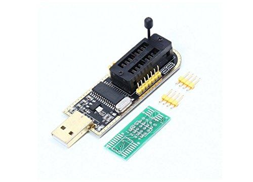 Chip Flash Bios - HaoYiShang CH341A USB Programmer 24 25 Series Chip BIOS Flash Burner for PC Motherboard Router LCD Monitor