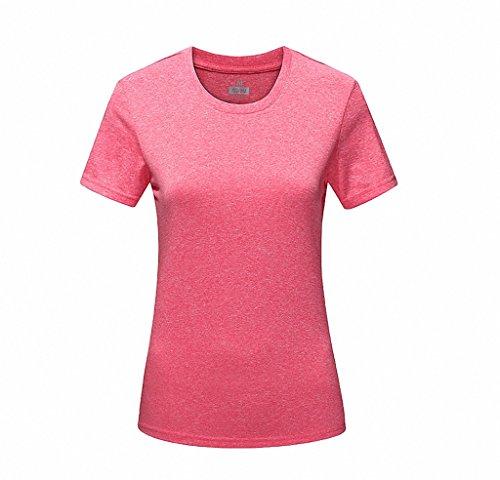 Maoko Women's Crew Quick Drying Short Sleeve Neckline Sport T-Shirt - San 511 Francisco