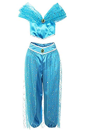 Aladdin Jasmine Princess Jasmine Adult Children Halloween Party