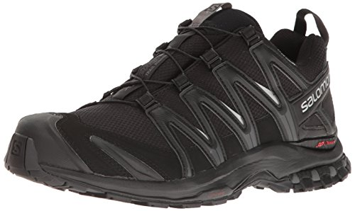 Salomon Men's XA Pro 3D CS Waterproof Trail-Runners, Black, 9.5 M US ()