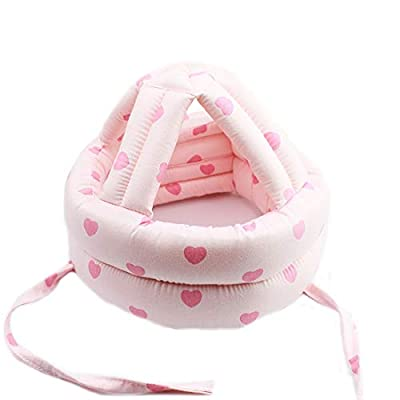 Ewanda store Toddler Infant Baby No Bumps Head Helmet Safety Helmet Children Headguard Head Cushion Bumper Bonnet