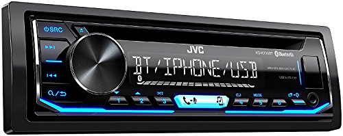 JVC KD-R790BT CD Receiver featuring Bluetooth USB Pandora iHeartRadio Spotify FLAC 13-Band EQ