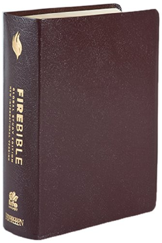 FireBible: Global Study Edition,New International Version Burgundy Bonded - Series Leather Bonded