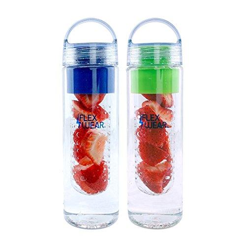 Bottle, 750ml/24oz (Dual Pack Blue/Green) ()