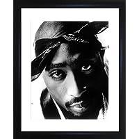 Tupac Shakur Foto enmarcada