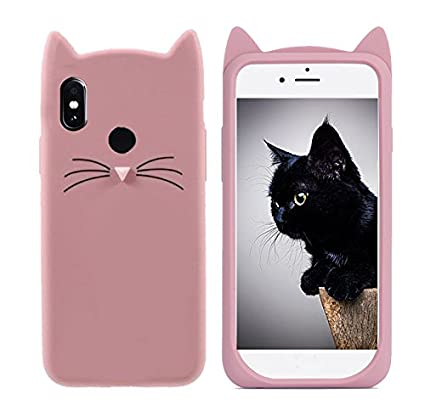 best service 7934b ae027 Glover Mi Note5 ProTrending Stylish Latest Cat Cover Silicon Soft Back  Cover for Mi Note5 Pro (Rose Gold)