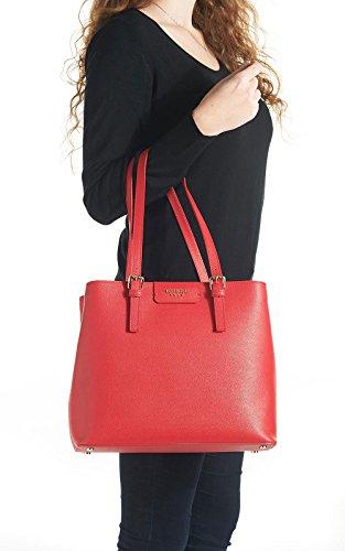 Guess HWKERRL6204 Borsa A Mano Donna Pelle Rosso Rosso TU Rosso