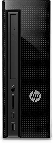 HP Slimline 270-p043w DesktopTower PC - Intel Core i3-7100 3.9GHz 8GB RAM 1TB HD DVDRW Wireless Keyboard and Mouse Windows 10 (Best Slimline Desktop Computer)