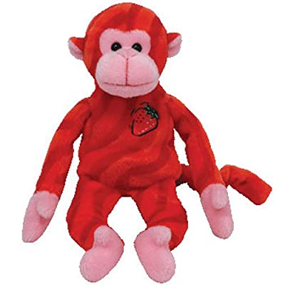 TY Beanie Baby - TWIRLY the Twizzler Monkey: Toys & Games