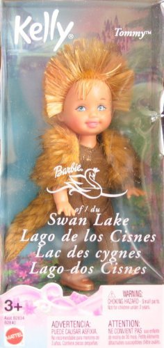 Barbie Swan Lake Kelly TOMMY as Ivan the Porcupine Doll (2003 Multi-Lingual Box)