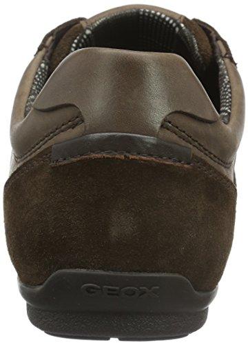 Geox U Houston A, Scarpe da Ginnastica Uomo Braun (Dk Brownc6006)