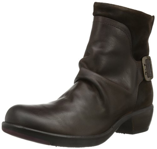 Botas Camperas Marrón Dk para Mel Fly Brown London Mujer xzEWg