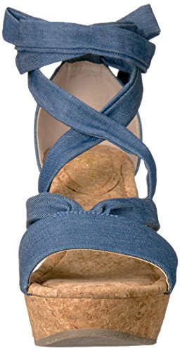Kenneth Sandal Cole REACTION Women's Rise Blue Sole Wedge rrq8OC