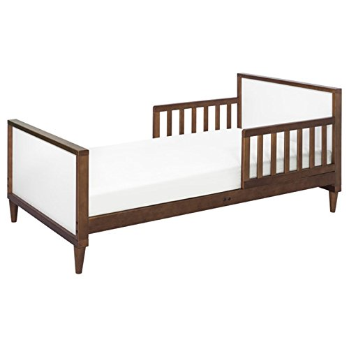 Babyletto Ziggy Toddler Bed, White/Walnut Review