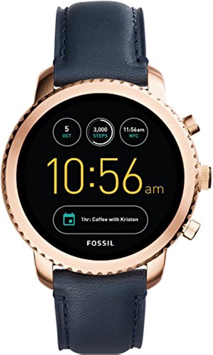 [해외] [파슬(Fossil)]FOSSIL 손목시계 Q EXPLORIST 터치 스크린 스마트 워치 제너레이션3 FTW4002 맨즈 【정규 수입품】