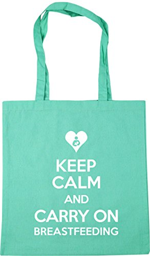 Calm HippoWarehouse 42cm Shopping Keep litres Beach Mint Gym Bag Breastfeeding Carry and On x38cm Tote 10 r45C4wq