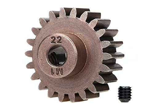 Traxxas 6495X 22-T Pinion Gear, 1.0 Metric Pitch, Fits 5Mm Shaft (Compatible with Steel Spur Gears) Vehicle