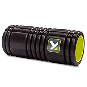 TriggerPoint GRID Foam Roller with Free Online Instructional Videos, Original (13-inch), Black