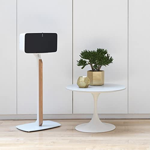 Flexson Premium Floor Stand for Sonos PLAY 5 White Oak
