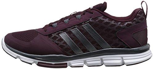 888591556904 - adidas Performance Men's Speed Trainer 2 Training Shoe, Maroon/Carbon Metallic/Tech Grey/Metallic, 10 M US carousel main 4