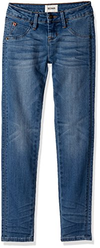 HUDSON Big Girls Crop Jean, Ripple Blue Wash, 8 by HUDSON