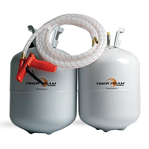 Tiger Foam Slow Rise 600 Bd Ft Spray Foam Insulation Kit