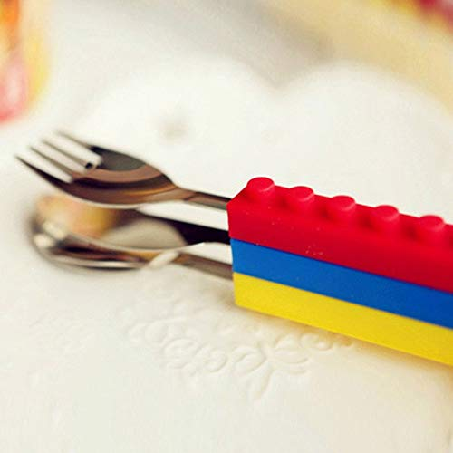 Amazon.com: Dinnerware Sets - Creative Legoe Bricks Portable ...