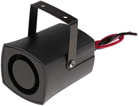 Sharplace Beeper Horn 12v Auto Retromarcia Allarme Corno Avvisatore Acustico Cicalino Avviso Nero