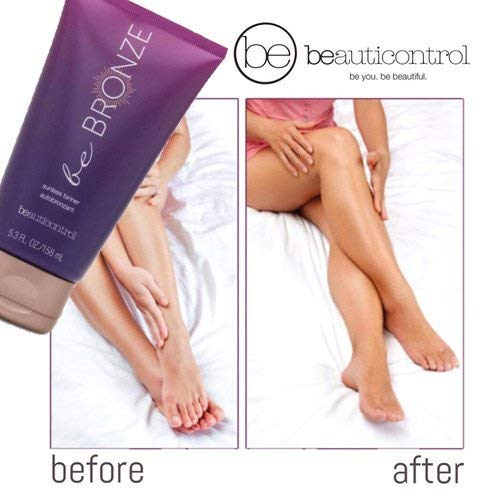 Beauticontrol BE Bronze Sunless Tanner 5.3oz With Mitt.