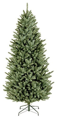 National Tree 7 Foot Natural Fraser Fir Slim Tree (NAFFSLH1-70) ()