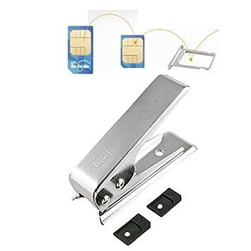 Micro Sim. Cortador de Tarjetas + 2 adaptadores para iPhone ...