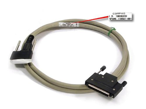 - HP SCSI INTERFACE CABLE 1,8 M 6FT, 110941-001, 341176-B21