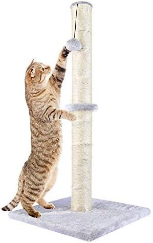Amazon.com: Dimaka - Rascador para gatos de 29 pulgadas de ...
