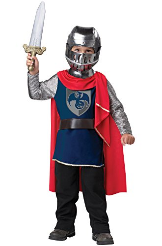 King Dress Up Costume (California Costumes Gallant Knight Toddler Costume, 3-4)