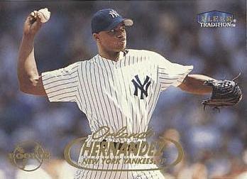 1998 Fleer Tradition Update Baseball #U14 Orlando Hernandez Rookie Card