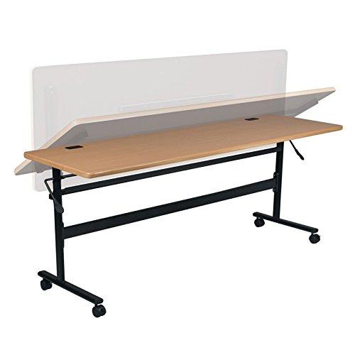 Balt Economy 60'' W x 24'' D Nesting Flipper Training Table by Balt