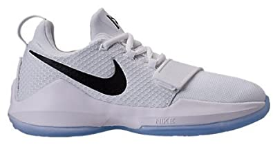 36b78eeeff69 Nike PG 1 quot Checkmate quot  ボーイズ キッズ White Black-Chrome ナイキ バッシュ