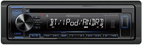 Kenwood KDC-BT272U CD Single DIN in-Dash Bluetooth Car Stereo Receiver