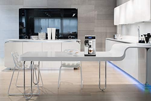 De'Longhi Autentica Machine expresso avec broyeur, technologie exclusive boissons lactées ETAM29.660.SB, Argent et Noir
