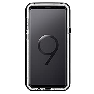 Lifeproof NEXT SERIES DROP-DIRT-SNOWPROOF Case for Samsung Galaxy S9 Plus - Retail Packaging - BLACK CRYSTAL (BLACK/CLEAR)