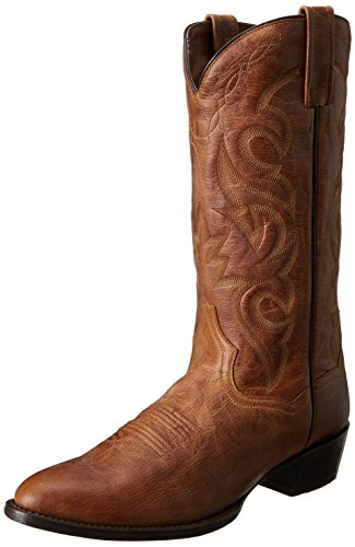 Dan Post Milwaukee Men's Light Brown Leather Boots 11 EW