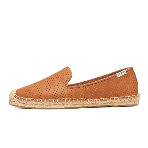 Espadrilles Perforated Smoking Perforated Leather Slipper Leather Espadrilles Smoking Slipper Leather Perforated wqPqHAIg