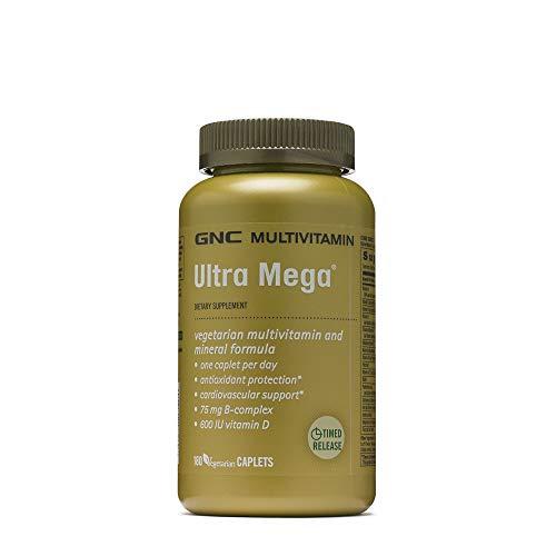 (GNC Ultra Mega Multivitamin, 180 Caplets)