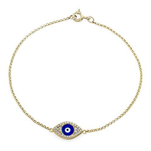 Victoria White Diamond Enamel Bracelet