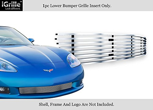 For 06-10 Chevy Corvette C6 Stainless Steel Billet Grille Insert #C65768C (C6 Billet)